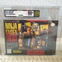 Ninja Gaiden Trilogy NEW & Factory Sealed VGA 90+ for Super Nintendo SNES!