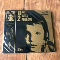 U2 - WE WILL FOLLOW - 4x CD SET - THE LEGENDARY BROADCASTS - LIMITED JAPAN EDT.
