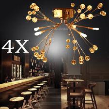 4x Mini Plafonnier Design Moderne Lustre Lampe à suspension Lampe de salon