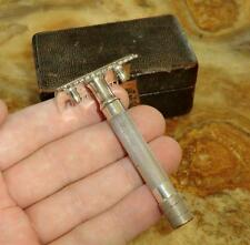 "GILLETTE Rasierhobel E228382 OLD TYPE ""Single Ring"" KNOWN THE WORLD OVER 1917"