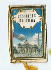 Calendarietto BASILICHE DI ROMA 1950