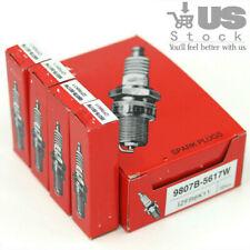 4x OEM Laser Iridium Spark Plugs NK For Acura Chevrolet 9807B-5617W (IZFR6K11)