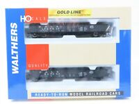 HO Scale Walthers Gold Line 932-27470 P&LE Pittsburgh Lake Erie 46' Gondola 2-Pk