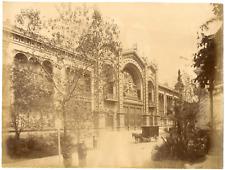 France, Paris Vintage albumen print, Tirage albuminé  21x27  1870  <div