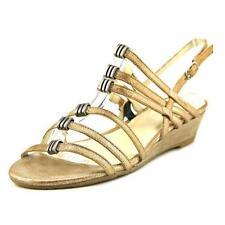 Sandalias y chanclas de mujer de tacón medio (2,5-7,5 cm) de piel talla 41