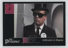 2002 Cards Inc The Prisoner Autograph Series #16 Infiltration in Disguise 0f8