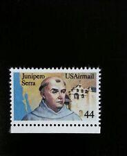 1985 44c Father Junipero Serra, California Scott C116 Mint F/VF NH