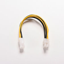 2X 7.8in ATX 12V CPU Power Cable de 4 pines macho a hembra de 8 Pines M/F PC computadora..