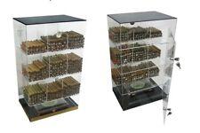 Prestige Import Group Roosevelt Large Counter Top Acrylic Display Cigar Humidor