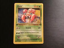1st Edition Paras Non-Holo WOTC Pokemon Card 59/64 Jungle Set  MINT/nm