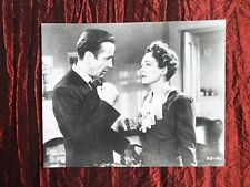 MARY ASTOR - HUMPHREY BOGART  -  FILM STAR -  BLACK AND WHITE PHOTOGRAPH- 8X10
