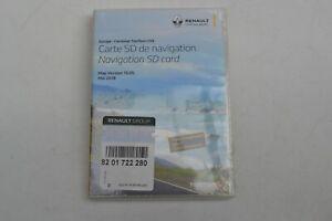 8201722280 Original Renault Navigation SD Card  Map Version 10.05