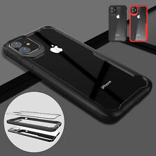 For iPhone 11 Pro Max 11 Shockproof Clear Rubber TPU Bumper Slim Back Case Cover