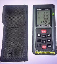 Handheld Laser Distance Meter Range Finder Spirit Level 100meters 328ft Ms6400