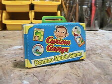 Wendy's Kids Meal Domino Match Game Toy Curious George