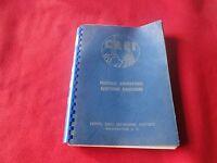 Vintage Airplane Operation Manual CREI Practical Aeronautical E.E.