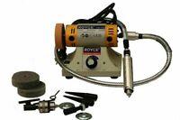 Smerigliatrice Da Banco Mola Levigatrice Lucidatrice Elettrico 350WATT TM-700