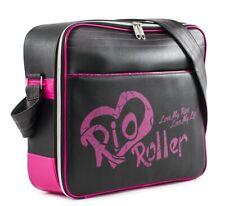 Rio Roller Moda de Usos Múltiples Skate Bolsa - Negro/Rosa