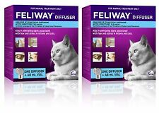 Feliway for Cats Genuine Australian Diffuser Set - 2 Pack
