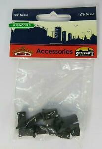 BNIB OO Gauge Bachmann 44-525 Domestic Wheelie Bins (x10)