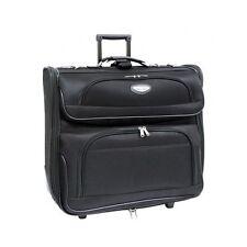 Folding Garment Bag Luggage Wheels Suit Dress Clothing Carry On Travel Suitcase