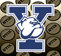 Yale Bulldogs Logo NCAA Die Cut Vinyl Sticker Car Window Bumper Decal