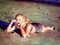 Marilyn Monroe 1953 Vintage Pinup Litho Willinger Manhattan Beach Photo COA