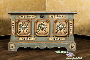 Voglauer Anno 1700 Antique Blue Chest Cottage Dresser Farmhouse Wardrobe Solid
