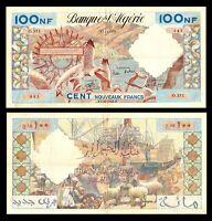Algeria 1959-1961, 100 Nouveaux Francs, P121b, @ LARGE SIZE