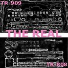 Roland TR-909 and 808 drum machine SAMPLE LIBRARY