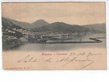 CARTOLINA SALERNO - PANORAMA - VIAGGIATA 1900
