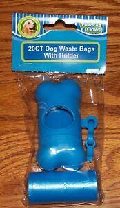 Paws-n-claws Bone Shaped Bag Dispenser & Bags Dog