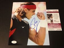 Rafael Nadal Tennis Signed Auto 8x10 PHOTO JSA COA Certified