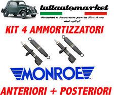KIT 4 AMMORTIZZATORI Fiat Punto 55, 60, 75, 85, 90 ANTERIORI E POSTERIORI MONROE