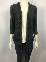 Metalicus grey marle one size lightweight cardigan jacket