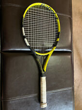 """Babolat Boost """"A"""" tennis Racquet Pre-strung Woofer System Full Graphite 102sq.in"""