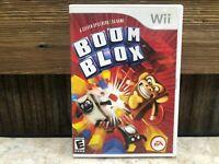 Boom Blox - Nintendo Wii NO MANUAL , TESTED, FREE SHIPPING