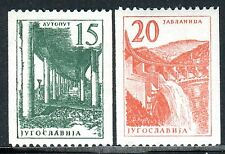 898 - Yugoslavia 1959 - Hydropower Plants - Highway - MNH Set