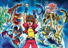 BAKUGAN BATTLE BRAWLERS ANIME CARTOON A3 POSTER PRINT YF1088