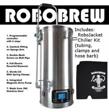 IN STOCK Robobrew V3 All In One Brewing System with Pump 9.25gal FREE Jacket & C