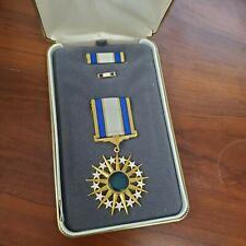 Usaf Distinguished Service Medal Set Ribbon and Lapel Pin.