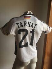 MAGLIA GERMANY 1998 ADIDAS FUSSBALL TRIKOT DEUTSCHE JERSEY VINTAGE #21 TARNAT