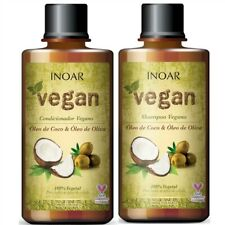 INOAR Vegan Shampoo 250 ml + Conditioner 250 ml - UK STOCK