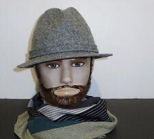 Outstanding vintage BILTMORE  Harris Tweed fedora hat - Sz 7  1/8  - 57 cm