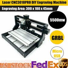 CNC Laser Engraving Cutting Machine 5500mW CNC DIY Logo Mark Printer Engraver