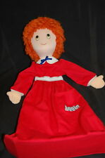 "Little Orphan Annie Hanging Bag Plush Head 24"" Vtg 1982 Applause Knickerbocker"