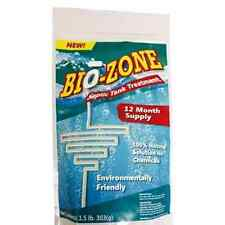 Bio-Zone Septic Tank Treatment 100% Natural Solution No Chemicals 1 Year Supply