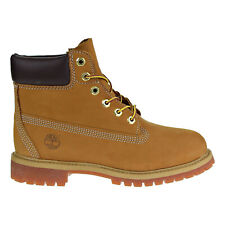 Timberland 6 Inch Premium Waterproof Little Kids Boots Wheat 12709