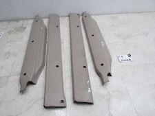2004 2005 sedona rocker panel scuff sill trim molding kick plate TAN SET