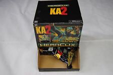 KICK ASS 2 HEROCLIX COUNTER DISPLAY GRAVITY FEEDER BOX WITH 24 PACKED FIGURES